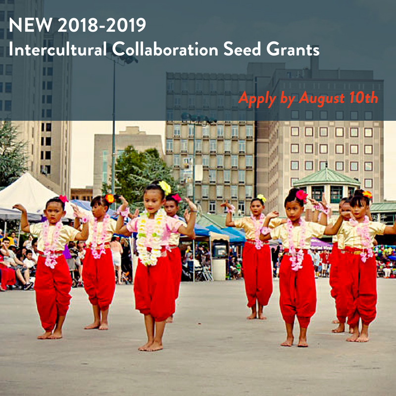 New Opportunity for Expansion Arts Alumni! Intercultural Collaboration Seed Grants