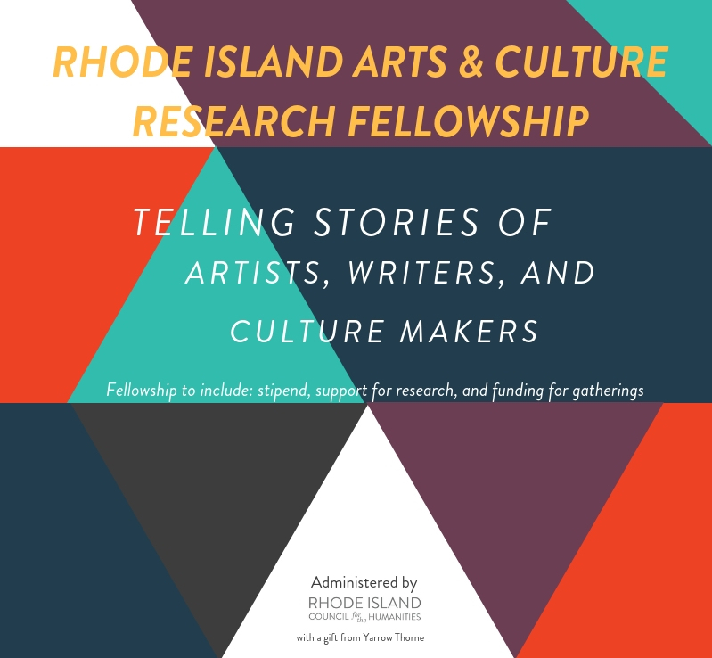 Call for Applications: Rhode Island Arts and Culture Research Fellowship