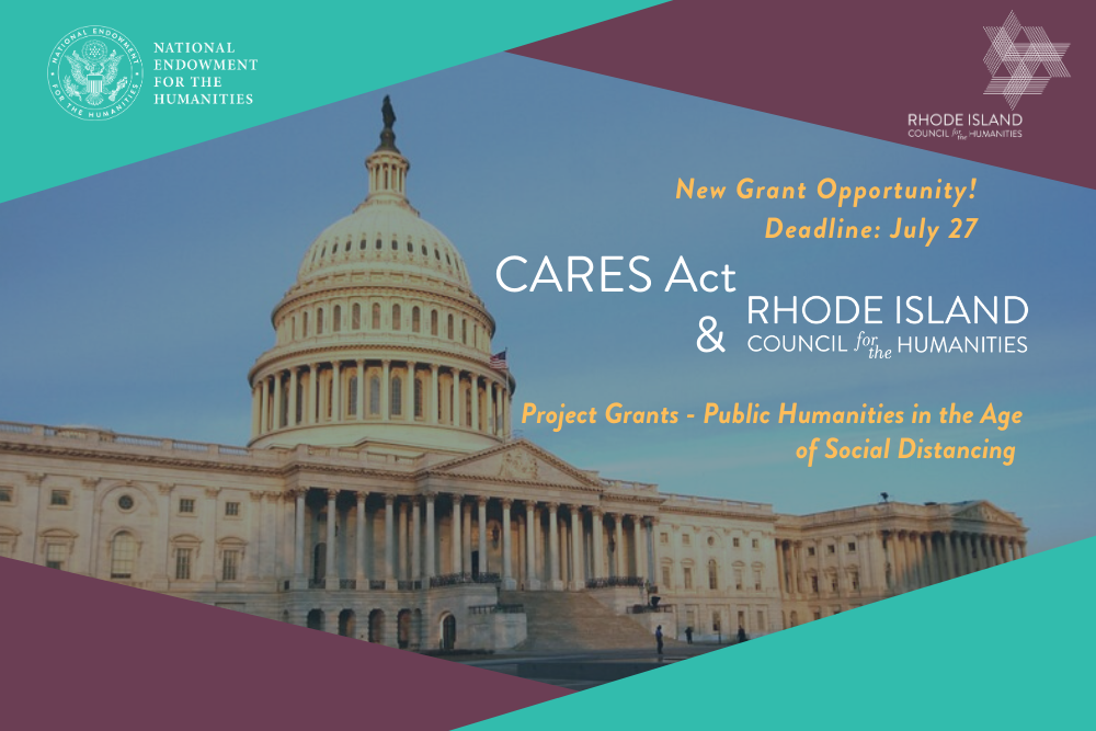 Home pg slider CARES Act grant opportunities with RIHumanities