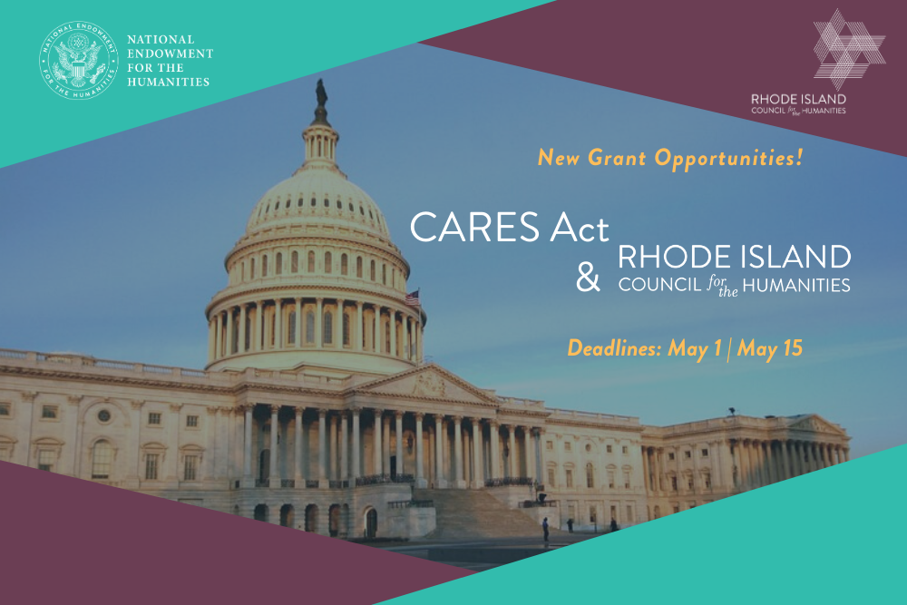Home pg slider CARES Act grant opportunities with RIHumanities (1)