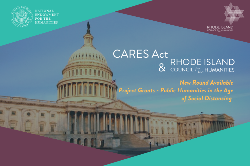 March 2021 Home pg slider CARES Act grant opportunities with RIHumanities