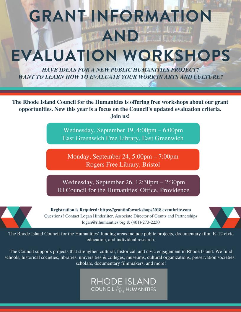 Grant Information and Evaluation Workshop
